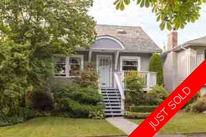 Kitsilano House for sale:  5 bedroom 2,370 sq.ft. (Listed 2017-03-09)