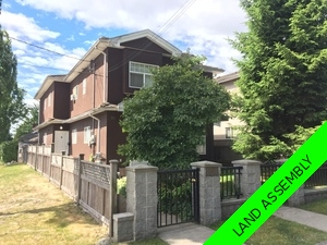 Marpole Duplex for sale:  3 bedroom 1,115 sq.ft. (Listed 2018-06-26)